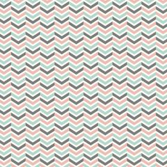 Chevron Pattern Digitally Printed