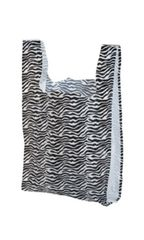 Plastic ZEBRA Merchandise Bag