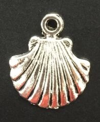 Sea Shell Charm Tibetan Silver Metal