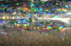 Holographic Crystal Adhesive Vinyl