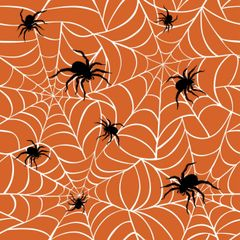 Halloween Patterns Digitally Printed