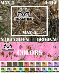 "12"" x 5 ft rolls - RealTree Camo Vinyl - Oracal/Outdoor"