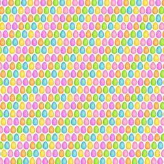 Easter Pattern Digitally Printed