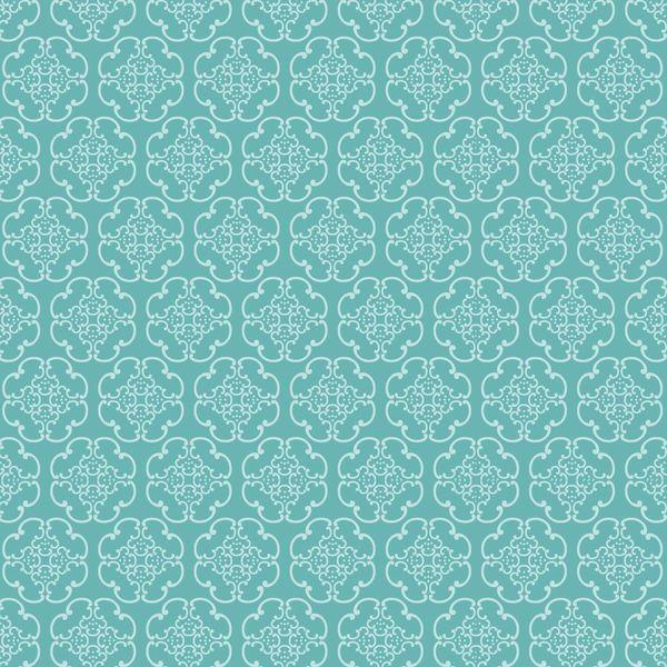 Antique Pattern Digitally Printed