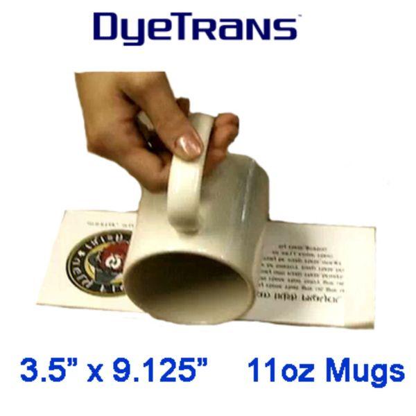 Sublimation Mug Paper 3.5 x 9.125