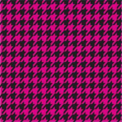 Houndstooth Pattern Digitally Printed