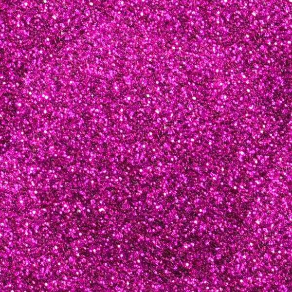 HOT PINK Heat Transfer Vinyl GLITTER Sheets