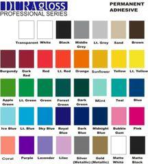 Bundle - DuraGloss Adhesive Vinyl - Professional Series