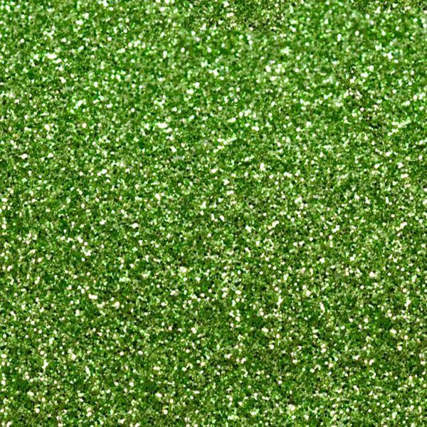 LIGHT GREEN Heat Transfer Vinyl GLITTER Sheets