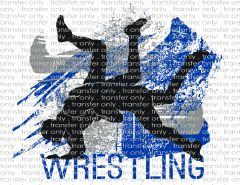 Sublimation Transfer - Wrestling