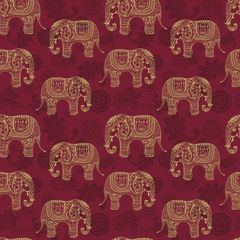Elephant Patterns Digitally Printed - Pattern 1