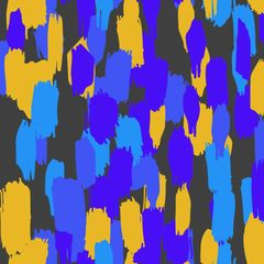 Brush Strokes Digitally Printed - Pattern 6