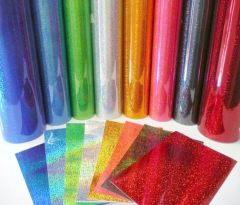 Green - Fantasy Films Outdoor Glitter Adhesive Vinyl