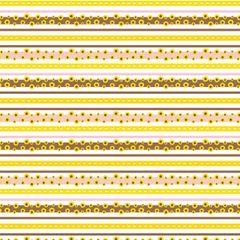 Sunflower Pattern Digitally Printed