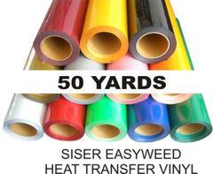 "15"" x 50 yd roll - SISER EasyWeed Heat Transfer Vinyl"