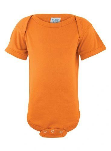Infant Body Suit - Creeper - Mandarin Orange
