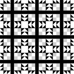 Quilt Pattern Digitally Printed