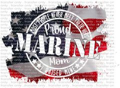 Sublimation Transfer - Marine Mom