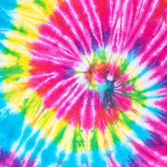 Tie Dye Patterns Digitally Printed