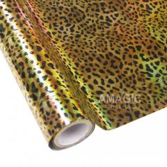 Metallic Heat Transfer Foil - Leopard