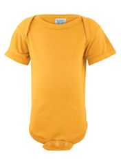 Infant Body Suit - Creeper - Gold