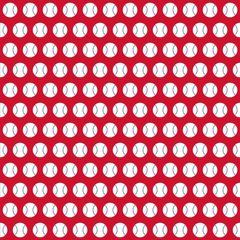 Baseball Digitally Printed - Pattern 12