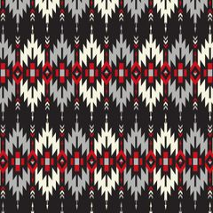 Aztec/Tribal Pattern Digitally Printed