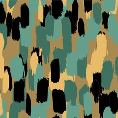 Brush Strokes Digitally Printed - Pattern 1