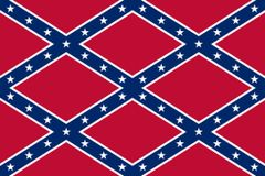 Confederate Flag Vinyl Pattern 3