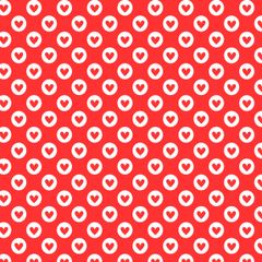 Valentine Pattern Digitally Printed