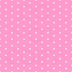 Polka Dots Pattern Digitally Printed