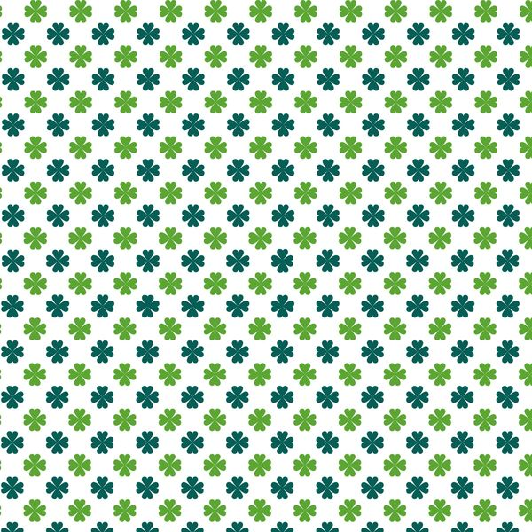 St.Patricks Day Patterns Digitally Printed