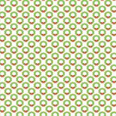 Christmas Pattern Digitally Printed