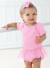 Infant Body Suit - Creeper - Tutu - Pink