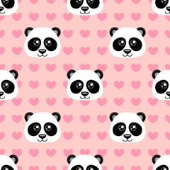 Panda Bear Patterns Digitally Printed - Pattern 2