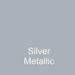 Silver Metallic DuraGloss Intermediate Adhesive Vinyl