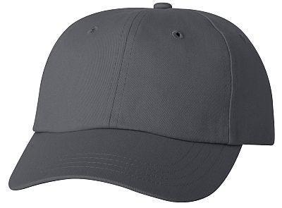 Cotton/Twill Cap - Low Profile - Grey