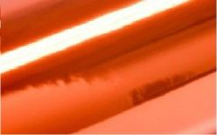"12"" Mirrored ORANGE CHROME Adhesive Vinyl"