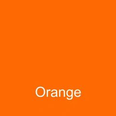 Orange DuraGloss Intermediate Adhesive Vinyl