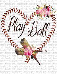 Sublimation Transfer - Baseball