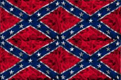 Confederate Flag Vinyl Pattern 1