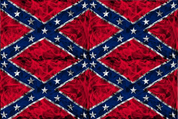 Confederate Flag Vinyl Pattern 1 Sticky Fingers Vinyl Craft Sign