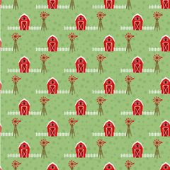 Barn Yard Babies Pattern Digitally Printed