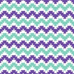 Aztec Pattern Digitally Printed