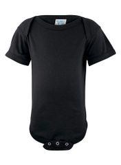 Infant Body Suit - Creeper - Black