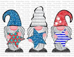 Sublimation Transfer - Patriotic Gnomes