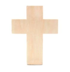 Wood Cross Unfinshed Traditional 7 x 9 Vinyl & Craft Blanks