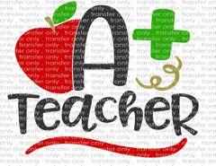Sublimation Transfer - Teacher