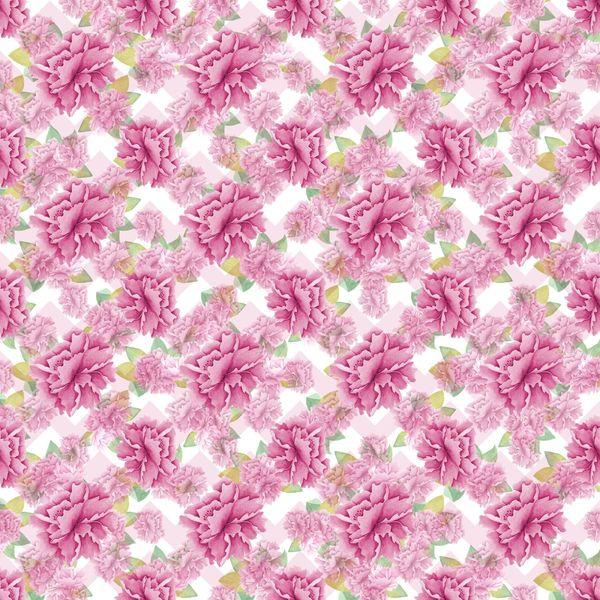 Spring & Bird House Patterns Digitally Printed