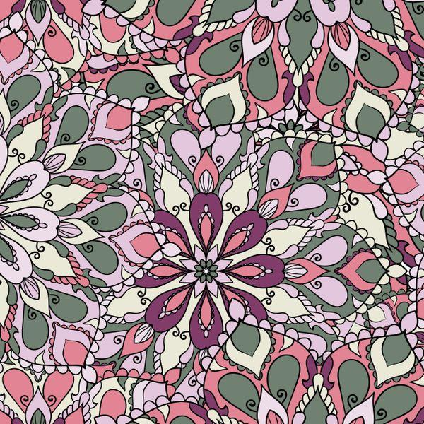 Floral Pattern Digitally Printed